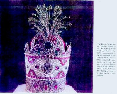 The Tales from the Zirzameen - Crown Jewels/Qajar Crown
